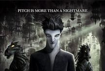 ♢ Pitch Black ♢ / Pitch Black, the Nightmare King, is the Rise of the Guardians' re-imagining of the boogeyman, the mythical creature that haunts the closets and dark corners of childhood nightmares and the main antagonist of the film.