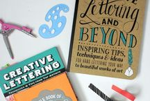 Lettering / Examples and tips on hand lettering and fonts