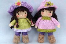 Bambole  a maglia