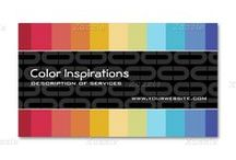 Trendy Business Cards / Colourful Trendy Business Cards
