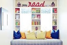 Where Do You Read? / Having a special place where your imagination can run free is so much fun! Here are some of our favorite examples and ideas for creating a reading nook in your home!