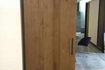 Eiken deuren / Eiken deuren in verschillende uitvoeringen