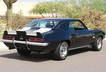1st Generation Camaros / 67's, 68's, & 69's / by Jerry Harrison