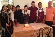 Our Staff welcomes You! / Our Staff welcomes You! - Ristorante Piccolo Arancio Roma Fontana di Trevi