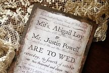 FPP #Wedding #Invites #ideas / All about wedding invitations to inspire your own DIY wedding invites :)