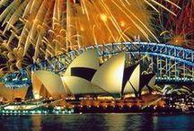 Australia + New Zealand+Indonesia