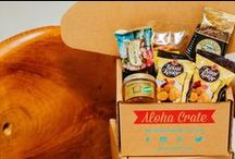 Aloha Crate Blog / Aloha Crate is the best Hawaii subscription box. Read our blog and learn how we #shopsmall and support local businesses. We send subscription boxes every month filled with a mix of arare, Kona Coffee, li hing mui mango, macadamia nut chocolate, tropical granola, lilikoi butter, guava jam, Maui Onion Mustard, taro chips, and much, much more!