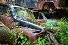 Car cemetery / Faded glory