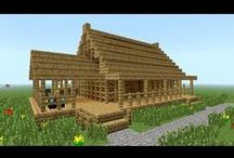 Minecraft Builds / Houses, contraptions and other stuff for building