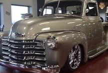 1947 shevy and pickup
