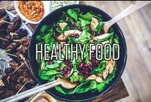 Healthy Food / Alles was lecker und auch noch super gesund ist! Ein dreifaches Hoch auf die Ernährung!
