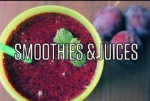 Smoothies & Juices / Kleine Inspriationen, wenn ihr mal keinen Rawganic Juice zur Hand habt.