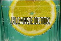Cleanse.Detox. / Alles rund um Cleanse und Detox. Spüre deinen Körper.