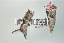 Love yourself! / Alles rund um kaltgepressten Saft, lustige Comics, bunte Tatsachen und alles andere Wissenswerte über Rawganic Juices