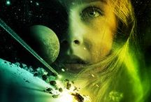 Science Fiction Book Cover Art by Larry Rostant / Book Cover Art