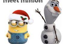 Minions und Olaf