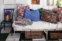 FPP #Vintage and #Eclectic #Interiors / Vintage is a one of kind piece of furniture, not something mass-made that looks like a vintage item. I love the eclectic and mixing home decorations and furniture from different eras. It's all about re-purposing!