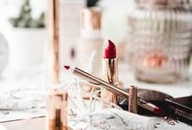 Beauty Makeup und Lippenstifte