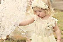 Pastel Flower Girl
