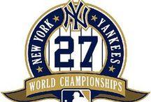 Baseball - New York Yankees / Yankees! 27 time world champions! / by Brian Leggett