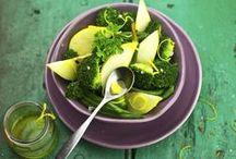 Recettes toutes vertes / Découvrez un album de #recettes de #légumes toutes #vertes avec #Bonduelle. #salades #plat #vegetables #recipes #salad #cuisine #cooking #food