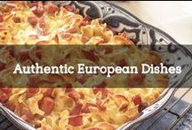 Authentic European Dishes / We hope you have some leftovers in the fridge, because you're going to leave this board hungry! European cuisine offers you a variety of flavours, colours and structures that you are desperate to bring to your every-day cooking back at home. Pin your pictures of the latest European dishes you tasted with #LiveLaughExplore and join the Ventoura community!