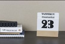 Muumuru kalenterit / calendars / Muumuru kalenterit / calendars