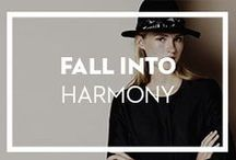 Fall (into) Harmony. / The most chic Autumn Winter looks on www.wecreateharmony.com