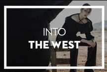 Into The West / Western trends such as fringe, suede and all things influenced by the far west.