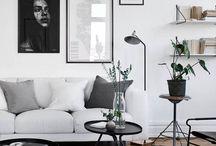 White, marble & monstera / Minimalistic & modern