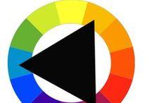 ♥ Color block ♥ / Color block outfits | Color block knitwear | Color block fashion | Color block trend | Color block sweaters and cardigans | Color block 2017-2018 | Color blocking |