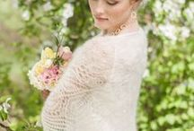 ♥ Knitted wedding ♥ / Knitted wedding ideas | Winter wedding ideas | Knitted and crochet wedding dress | knit and crochet bridal wrap |