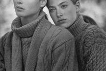 Vintage knitting & crochet fashion / Retro style fashion ♥