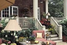 Backyard & Patio Inspiration / #backyard #patio #gardening #southern backyard / by Kahootie Co.