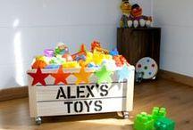 *Déco chambre enfant* kids room / Parce que la maison est un parfait terrain de jeux. Voici quelques inspirations pour être bien et faire participer les plus petits. DIY et évasion sont au rendez-vous.