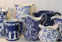 JUGS (Pitchers) / have a collection of jugs, I use for many things not just liquids / by Valerie Laiaine Pugh