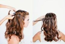 How To Hair Styles / How do I do this? Well here are some ideas for Do At Home Styles We post lots of 'How To Do Style' ideas on our facebook page too.