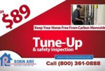 Commercials / Specials, offers, rebates #Robin Aire, #AC, #Lennox / by Robin Aire Heating & Cooling Inc.