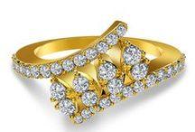 Rings / Elegant designs of Diamond Rings for online purchase