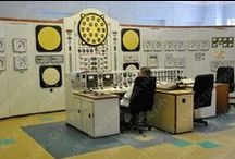 Nuclear Electricity 60th Anniversary / In 1954 AM-1 Obninsk supplied the first #nuclear electricity to the grid. This board records nuclear energy developments over the last 60 years.