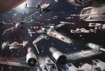 space ship & star wars