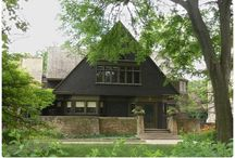 Frank Lloyd Wright / House and work area, Oak Park, Chicago