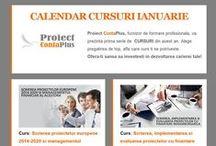 CURSURI IANUARIE / CURSURI AUTORIZATE A.N.C Cursurile sustinute de Proiect ContaPlus in luna ianuarie!   www.proiect-contaplus.ro