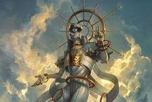 Dioses del pasado y el futuro