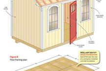 Shed Plans and Construction Tips / This board is dedicated to shed plans and construction tips provided by SheSheds.info