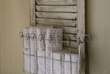 Shutters / So many creative uses for old shutters.