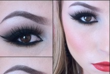 caked up makeup <3 / by Dianna Mendoza