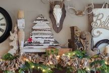 Merry Christmas! / We love Christmas! We especially LOVE all the creative holiday decorating ideas using salvaged materials! Many of the items used in these awesome creations can be found at Southern Accents. Gather your salvaged items and let your Christmas creativity flow!