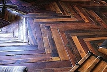 Flooring / There aren't many things more beautiful than a natural wood floor. Southern Accents rescues old wood, which can be repurposed as gorgeous flooring. Visit us at www.sa1969.com to view our inventory of salvaged wood.