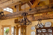Beaming / The only thing better than salvaging old beams is seeing them repurposed! Visit Southern Accents at www.sa1969.com to see our current selection of salvaged wood beams.
